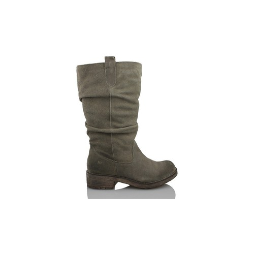 Zapatos Mujer Botas de caña baja MTNG MUSTANG COW BJ SERRAJE GRIS