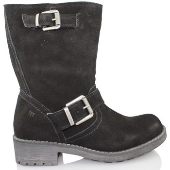 Zapatos Mujer Botas de caña baja Mustang Old MUSTANG SEÑORA BJ NEGRO