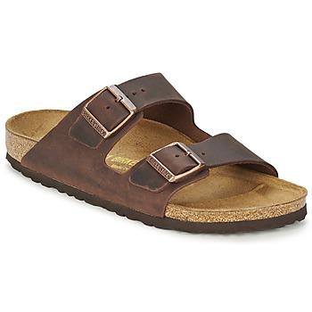 Zapatos Hombre Zuecos (Mules) Birkenstock ARIZONA Marrón