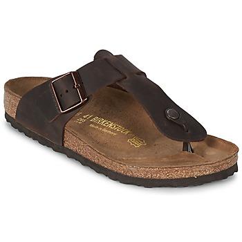 Zapatos Hombre Chanclas Birkenstock MEDINA PREMIUM Marrón