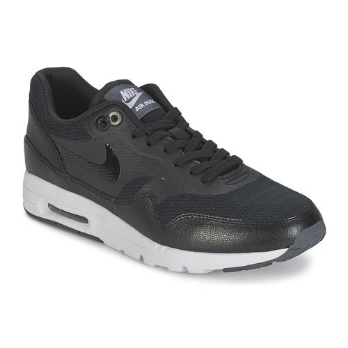 86446610fc9 Nike AIR MAX 1 ULTRA ESSENTIAL W Negro - Envío gratis con Spartoo.es ...