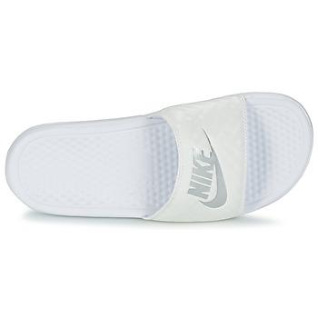Nike BENASSI JUST DO IT W Blanco / Plateado