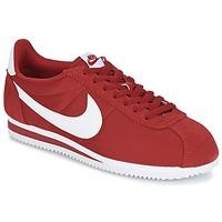 Zapatos Hombre Zapatillas bajas Nike CLASSIC CORTEZ NYLON Rojo