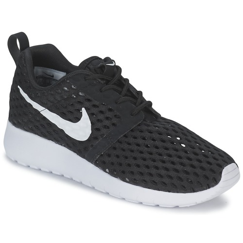 Zapatos Niño Zapatillas bajas Nike ROSHE ONE FLIGHT WEIGHT BREATHE JUNIOR Negro