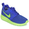 Zapatos Niño Zapatillas bajas Nike ROSHE ONE FLIGHT WEIGHT BREATHE JUNIOR Azul / Verde