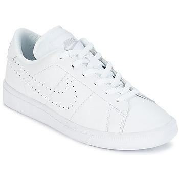 Zapatos Niños Zapatillas bajas Nike TENNIS CLASSIC PREMIUM JUNIOR Blanco