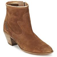 Zapatos Mujer Botines Spiral HEIDI Marrón / Oro