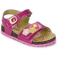 Zapatos Niña Sandalias Kickers MAGIFLOWER Fucsia