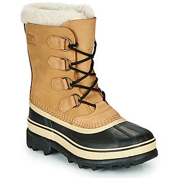 Zapatos Mujer Botas de nieve Sorel CARIBOU Marrón / Negro