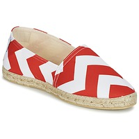 Zapatos Mujer Alpargatas Maiett NOUVELLE VAGUE Rojo / Blanco