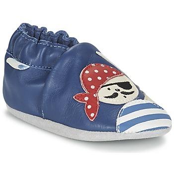 Zapatos Niño Pantuflas para bebé Robeez JOLLY PEG Azul