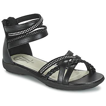 Zapatos Niña Sandalias Wildflower GRIMSTAD Negro