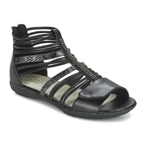 Zapatos Niña Sandalias Wildflower HAMAR Negro
