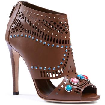Zapatos Mujer Sandalias Gucci 371057 A3N00 2548 marrone