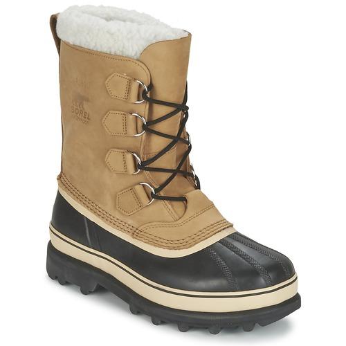 Zapatos Hombre Botas de nieve Sorel CARIBOU Beige