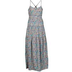 textil Mujer Vestidos largos Vero Moda PAISILLA MACE Beige / Azul