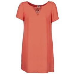 textil Mujer vestidos cortos Vero Moda TRIPPA Coral
