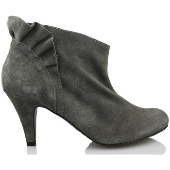 Zapatos Mujer Low boots Vienty BOTIN VOLANTE GRIS GRIS