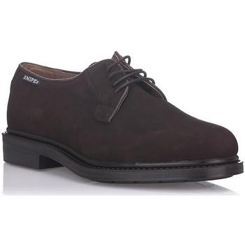 Zapatos Hombre Derbie Snipe 44621 MARRON