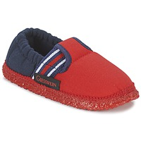 Zapatos Niño Pantuflas Giesswein AICHACH Rojo / Marino
