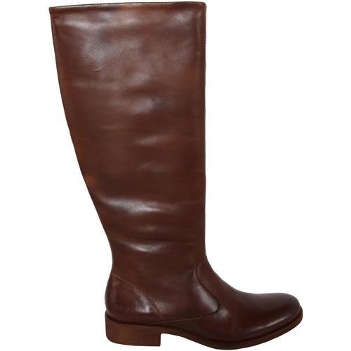 Zapatos Mujer Botas urbanas Kickers 320122-50 LONDON HIGH Marr?n