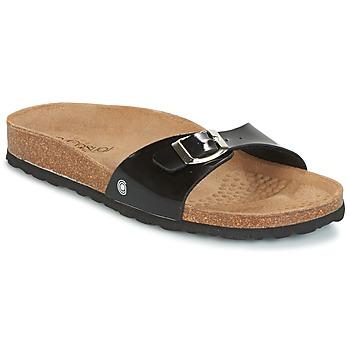 Zapatos Mujer Zuecos (Mules) Casual Attitude TERTROBAL Negro / Barniz