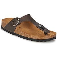 Zapatos Mujer Chanclas Casual Attitude PILTOBLE Marrón / Mat