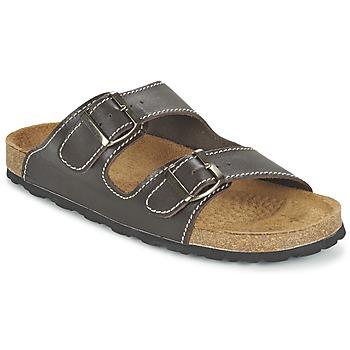 Zapatos Hombre Zuecos (Mules) Casual Attitude TERTROBAL Marrón