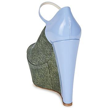 John Galliano S54261 Azul / Verde
