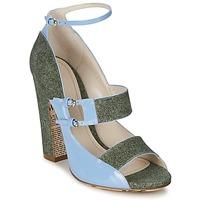 Zapatos Mujer Sandalias John Galliano A54250 Azul / Verde