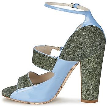John Galliano A54250 Azul / Verde