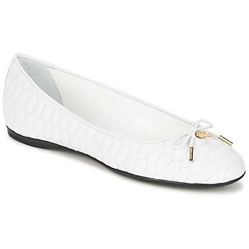 Zapatos Mujer Bailarinas-manoletinas Roberto Cavalli XPS151-PN119 Blanco
