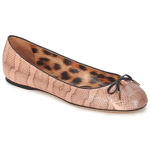Zapatos Mujer Bailarinas-manoletinas Roberto Cavalli XPS151-UB043 Rosa