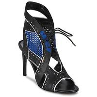 Zapatos Mujer Sandalias Roberto Cavalli XPS254-PZ448 Negro / Azul