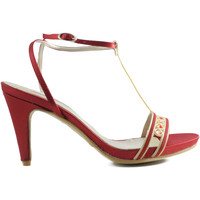 Zapatos Mujer Sandalias Angel Alarcon ANG ALARCON OPORTO ROJO