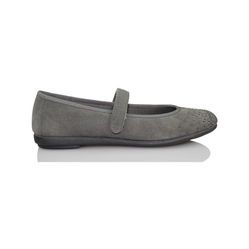 Zapatos Niña Bailarinas-manoletinas Vulladi SERRAJE CAN GRIS