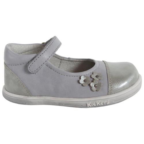 Zapatos Niña Bailarinas-manoletinas Kickers 413501-10 TREMIMI Gris