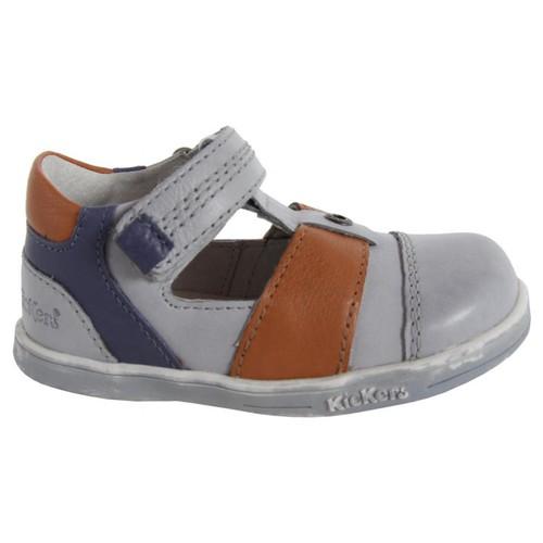 Zapatos Niño Derbie Kickers 413540-10 TROPICALI Gris