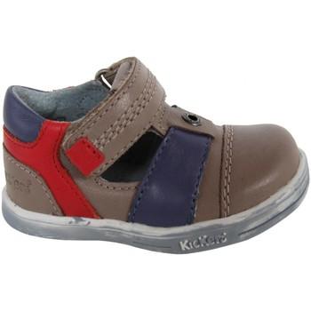 Zapatos Niño Derbie Kickers 413540-11 TROPICALI Beige