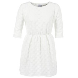 textil Mujer vestidos cortos Compania Fantastica FRENE Blanco