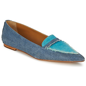 Zapatos Mujer Bailarinas-manoletinas Castaner KATY Azul / JEAN