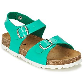 Zapatos Niña Sandalias Citrouille et Compagnie RELUNE Turquesa / Charol