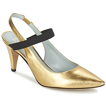 Zapatos Mujer Zapatos de tacón Marc Jacobs VALERY Oro