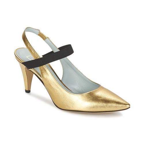 Marc Jacobs VALERY Oro - Envío gratis | ! - Zapatos Zapatos de tacón Mujer