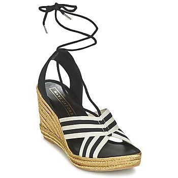 Zapatos Mujer Sandalias Marc Jacobs DANI Negro / Blanco