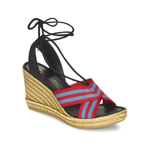 Zapatos Mujer Sandalias Marc Jacobs DANI Azul / Rojo