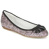 Zapatos Mujer Bailarinas-manoletinas Café Noir BOLERA GLITTER / Negro