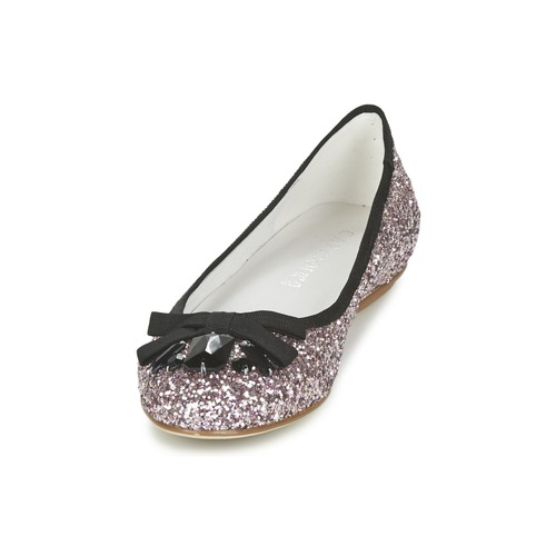 Noir Zapatos Bolera manoletinas GlitterNegro Bailarinas Mujer Café K3TJl1uFc