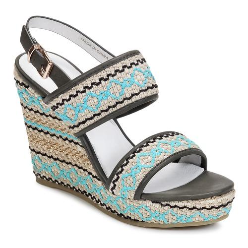 Zapatos promocionales Café Noir JABALA Carbón / Turquesa  Zapatos de mujer baratos zapatos de mujer