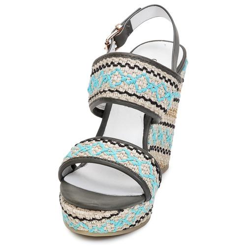 Zapatos de mujer baratos zapatos de mujer Zapatos especiales Café Noir JABALA Carbón / Turquesa